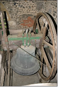 The tenor bell (biggest) in St Swithuns